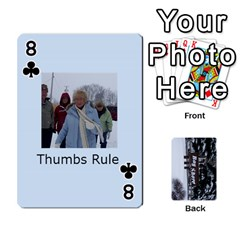 Kings Card Game  By Millie Kovatch   Playing Cards 54 Designs   8jltgzmziumx   Www Artscow Com Front - Club8