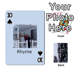 Kings Card Game  By Millie Kovatch   Playing Cards 54 Designs   8jltgzmziumx   Www Artscow Com Front - Spade10