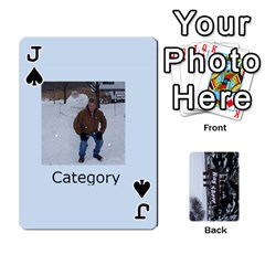 Jack Kings Card Game  By Millie Kovatch   Playing Cards 54 Designs   8jltgzmziumx   Www Artscow Com Front - SpadeJ