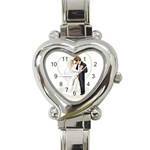 Personalized Love Watch - Heart Italian Charm Watch