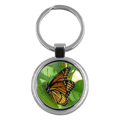 Monarch Chain By Kim Larose   Key Chain (round)   Dm9xwxj5uyfh   Www Artscow Com Front