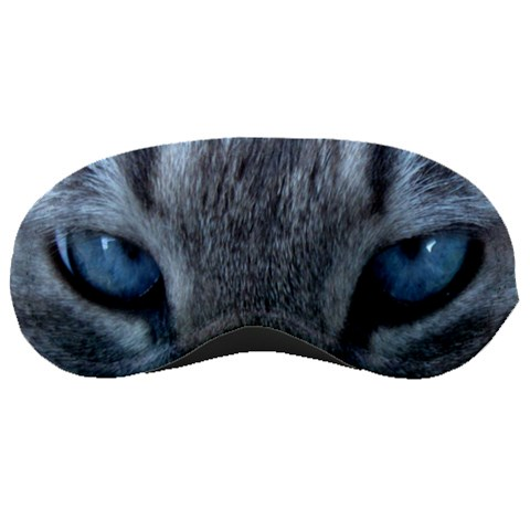 Kitty Kat Eyes By Marcie Cutrer   Sleeping Mask   U701fqdnms28   Www Artscow Com Front