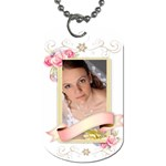 wedding - Dog Tag (One Side)