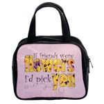 Flower Friends Handbag Rose Pink - Classic Handbag (Two Sides)