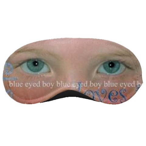 Blue Eyed Boy By Catvinnat   Sleeping Mask   Lzmhiehmocdb   Www Artscow Com Front