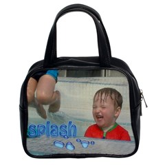 Splash Handbag Copy Me $9 99 Facebook Offer By Catvinnat   Classic Handbag (two Sides)   Y9ivjrrxmcep   Www Artscow Com Front