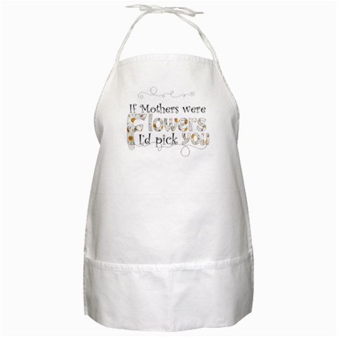 Mothers Day Apron By Catvinnat   Bbq Apron   Mu1u2t5c96t4   Www Artscow Com Front