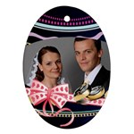 Wedding Egg - Ornament (Oval)