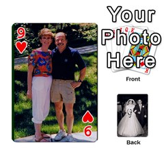 Alice & Ron Deck By Ron Sergenian   Playing Cards 54 Designs   Ntq0sd3ia7dz   Www Artscow Com Front - Heart9