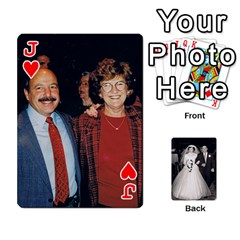 Jack Alice & Ron Deck By Ron Sergenian   Playing Cards 54 Designs   Ntq0sd3ia7dz   Www Artscow Com Front - HeartJ