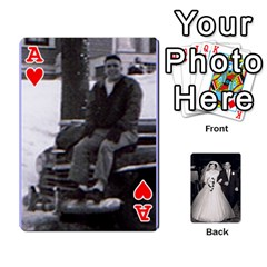 Ace Alice & Ron Deck By Ron Sergenian   Playing Cards 54 Designs   Ntq0sd3ia7dz   Www Artscow Com Front - HeartA