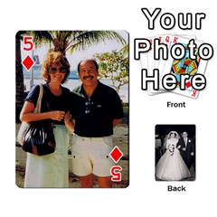 Alice & Ron Deck By Ron Sergenian   Playing Cards 54 Designs   Ntq0sd3ia7dz   Www Artscow Com Front - Diamond5