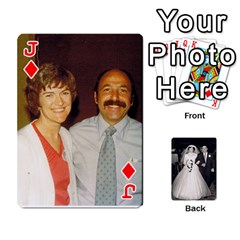 Jack Alice & Ron Deck By Ron Sergenian   Playing Cards 54 Designs   Ntq0sd3ia7dz   Www Artscow Com Front - DiamondJ