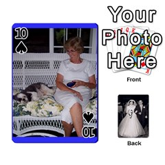 Alice & Ron Deck By Ron Sergenian   Playing Cards 54 Designs   Ntq0sd3ia7dz   Www Artscow Com Front - Spade10