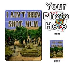 Iabsm Soviet Cards By Brian Weathersby   Multi Purpose Cards (rectangle)   Yox19391u0wa   Www Artscow Com Back 8
