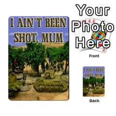 Iabsm Soviet Cards By Brian Weathersby   Multi Purpose Cards (rectangle)   Yox19391u0wa   Www Artscow Com Back 14