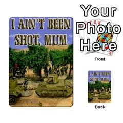 Iabsm Soviet Cards By Brian Weathersby   Multi Purpose Cards (rectangle)   Yox19391u0wa   Www Artscow Com Back 30
