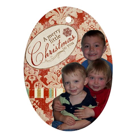2009 Ornament By Scrappyliz73   Ornament (oval)   Rtb4s9exlbss   Www Artscow Com Front