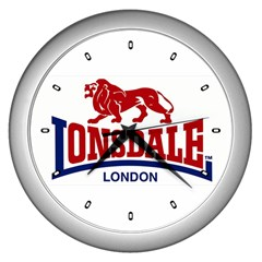 Lonsdale Wall Clock (Silver) by dankiosk