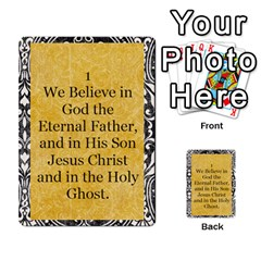Article Of Faith  Prophets By Thehutchbunch Fuse Net   Multi Purpose Cards (rectangle)   Tsev4ux1p1mn   Www Artscow Com Front 1