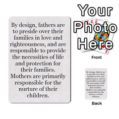 Article Of Faith  Prophets By Thehutchbunch Fuse Net   Multi Purpose Cards (rectangle)   Tsev4ux1p1mn   Www Artscow Com Back 54