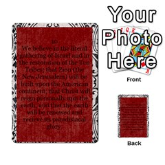 Article Of Faith  Prophets By Thehutchbunch Fuse Net   Multi Purpose Cards (rectangle)   Tsev4ux1p1mn   Www Artscow Com Front 10