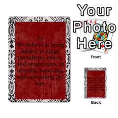 Article Of Faith  Prophets By Thehutchbunch Fuse Net   Multi Purpose Cards (rectangle)   Tsev4ux1p1mn   Www Artscow Com Front 12