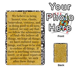 Article Of Faith  Prophets By Thehutchbunch Fuse Net   Multi Purpose Cards (rectangle)   Tsev4ux1p1mn   Www Artscow Com Front 13