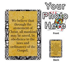 Article Of Faith  Prophets By Thehutchbunch Fuse Net   Multi Purpose Cards (rectangle)   Tsev4ux1p1mn   Www Artscow Com Front 3