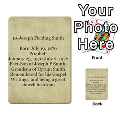 Article Of Faith  Prophets By Thehutchbunch Fuse Net   Multi Purpose Cards (rectangle)   Tsev4ux1p1mn   Www Artscow Com Back 38