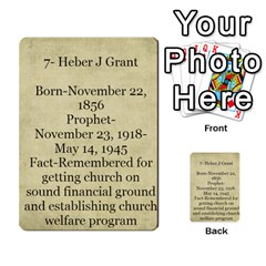 Article Of Faith  Prophets By Thehutchbunch Fuse Net   Multi Purpose Cards (rectangle)   Tsev4ux1p1mn   Www Artscow Com Back 39