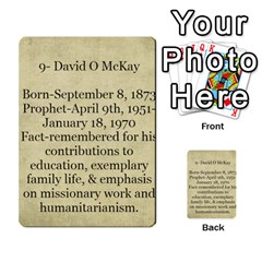 Article Of Faith  Prophets By Thehutchbunch Fuse Net   Multi Purpose Cards (rectangle)   Tsev4ux1p1mn   Www Artscow Com Back 41