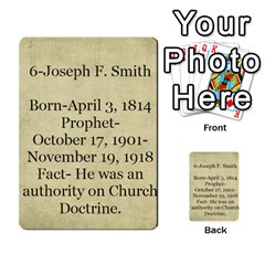 Article Of Faith  Prophets By Thehutchbunch Fuse Net   Multi Purpose Cards (rectangle)   Tsev4ux1p1mn   Www Artscow Com Back 42