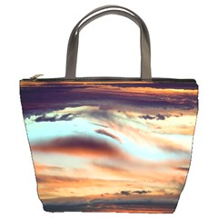 Sunset By Alana   Bucket Bag   Ntdjjqpeadee   Www Artscow Com Front