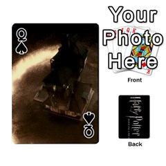 Queen Harry Potter Playing Cards By Mark C Petzold   Playing Cards 54 Designs   41vwjvfrukj9   Www Artscow Com Front - SpadeQ
