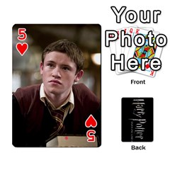 Harry Potter Playing Cards By Mark C Petzold   Playing Cards 54 Designs   41vwjvfrukj9   Www Artscow Com Front - Heart5