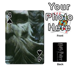 Harry Potter Playing Cards By Mark C Petzold Front - Spade4