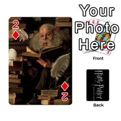 Harry Potter Playing Cards By Mark C Petzold   Playing Cards 54 Designs   41vwjvfrukj9   Www Artscow Com Front - Diamond2