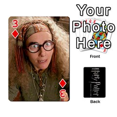 Harry Potter Playing Cards By Mark C Petzold Front - Diamond3