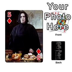 Harry Potter Playing Cards By Mark C Petzold Front - Diamond5