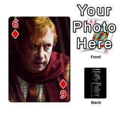Harry Potter Playing Cards By Mark C Petzold   Playing Cards 54 Designs   41vwjvfrukj9   Www Artscow Com Front - Diamond6