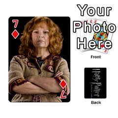 Harry Potter Playing Cards By Mark C Petzold   Playing Cards 54 Designs   41vwjvfrukj9   Www Artscow Com Front - Diamond7