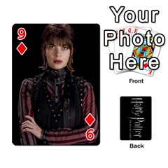 Harry Potter Playing Cards By Mark C Petzold Front - Diamond9