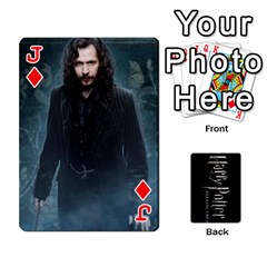 Jack Harry Potter Playing Cards By Mark C Petzold Front - DiamondJ