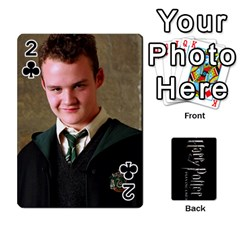 Harry Potter Playing Cards By Mark C Petzold   Playing Cards 54 Designs   41vwjvfrukj9   Www Artscow Com Front - Club2