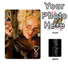 Harry Potter Playing Cards By Mark C Petzold Front - Club4