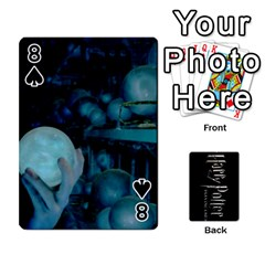 Harry Potter Playing Cards By Mark C Petzold   Playing Cards 54 Designs   41vwjvfrukj9   Www Artscow Com Front - Spade8