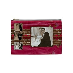 My Wedding Bag By Brookieadkins Yahoo Com   Cosmetic Bag (medium)   Zr021k58598u   Www Artscow Com Front