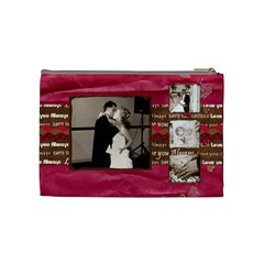 My Wedding Bag By Brookieadkins Yahoo Com   Cosmetic Bag (medium)   Zr021k58598u   Www Artscow Com Back