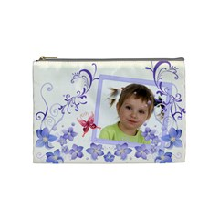 Flower Kids By Wood Johnson   Cosmetic Bag (medium)   4q0vqxijenyg   Www Artscow Com Front